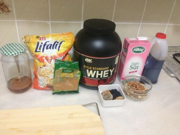 protein barda kullanılan malzemeler